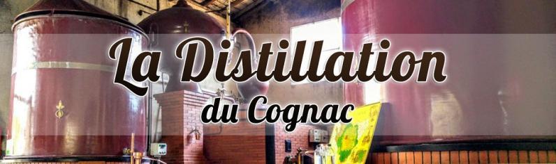 Distillation cognac