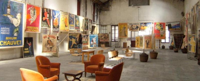 Salle affiches