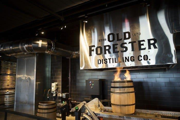 Oldforester distilleryrow